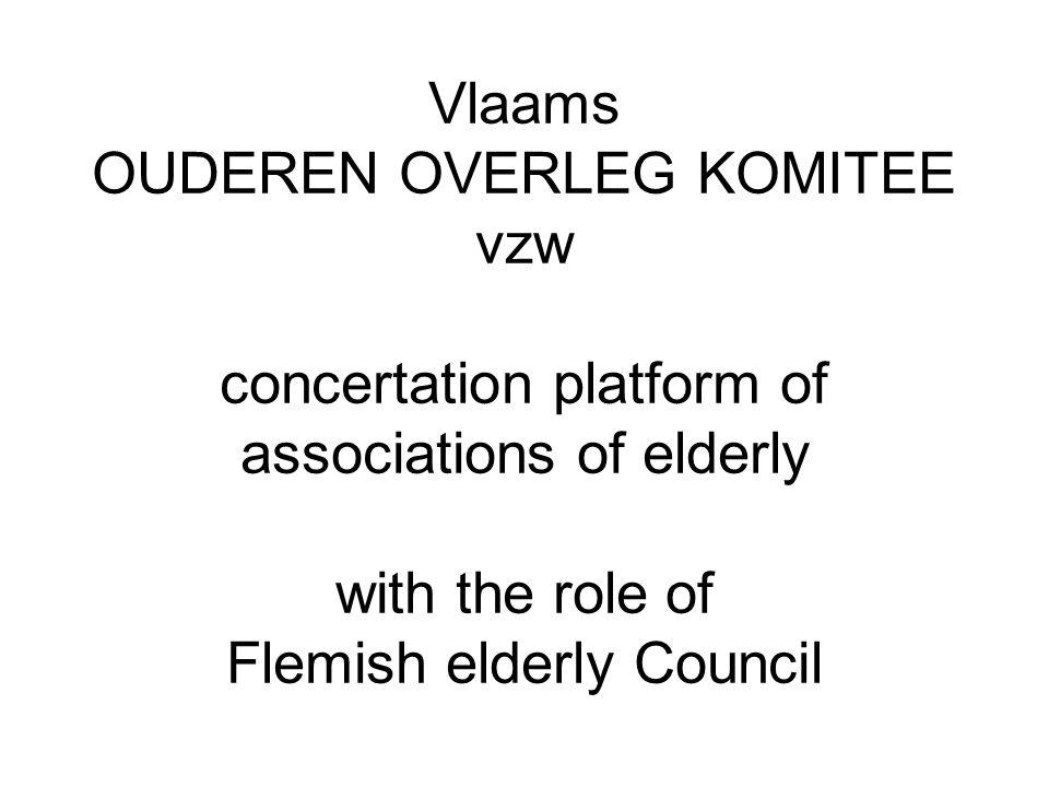 OOK-Vlaamse OUDERENRAAD Contactgegevens Secretariaat OOK–Vlaamse OUDERENRAAD Gelijkekansenhuis Koningsstraat 136 1000 Brussel Tel.: 02 209 34 51 of 0472 445 313 E-mail:mie.moerenhout@vlaams-ook.be Website: www.vlaams-ook.be