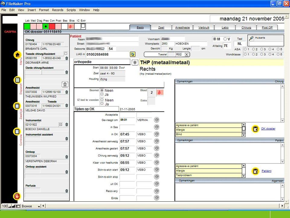 Klinische paden en capaciteits- analyses 1 december 2005 4926