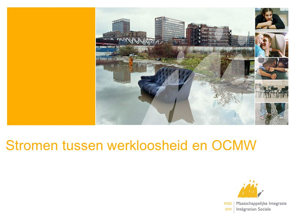 Stromen tussen werkloosheid en OCMW
