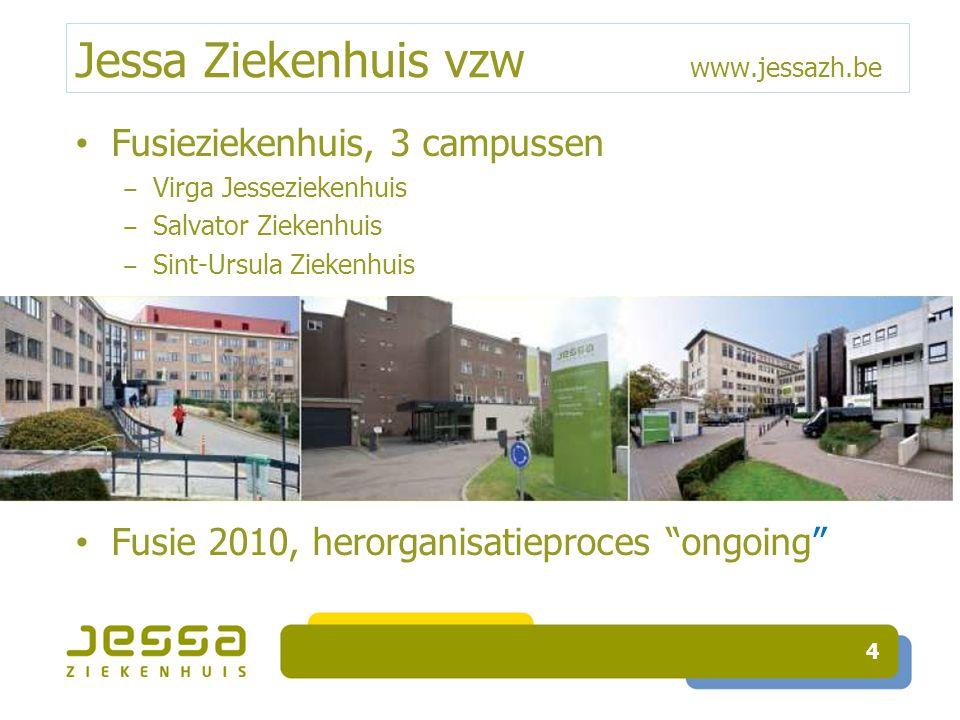 Opvolging: eenmalige projecten Extra criterium tov andere ziekenhuizen in 2011: correcte timing toediening dosissen post-op!.
