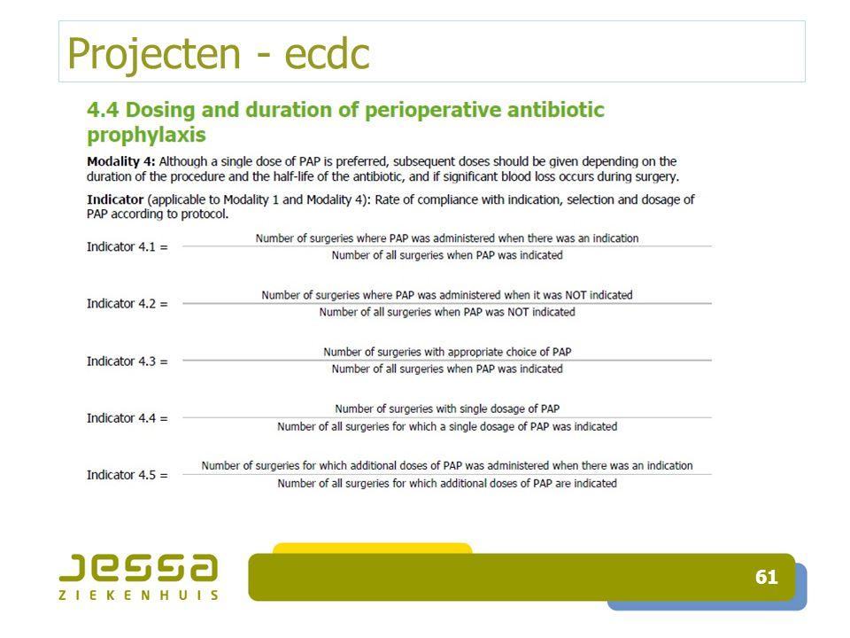 Projecten - ecdc 61