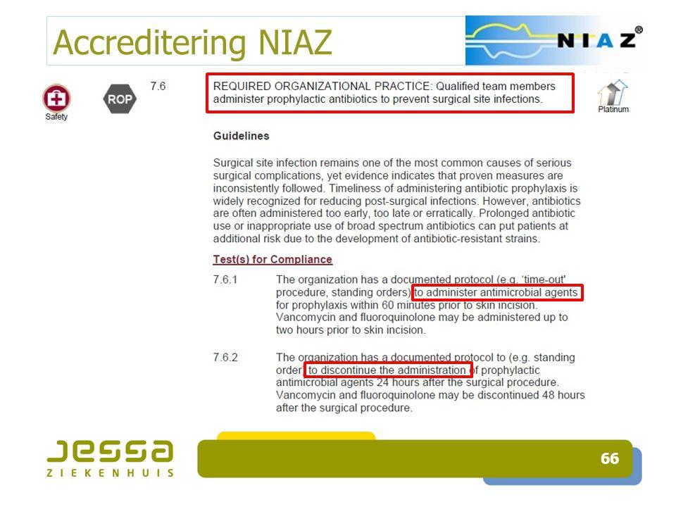 Accreditering NIAZ 66