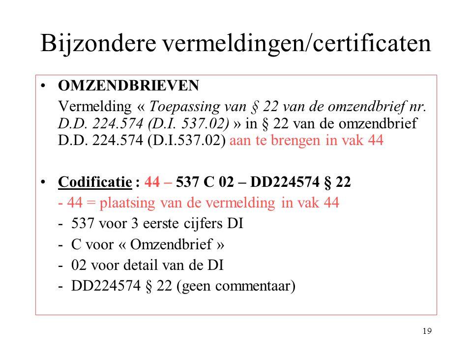 20 Documentatie ter uwer beschikking Verordening L 343/2003 op te zoeken op Eurlex maar de hierna volgende documenten staan ter uwer beschikking op elektronische drager.