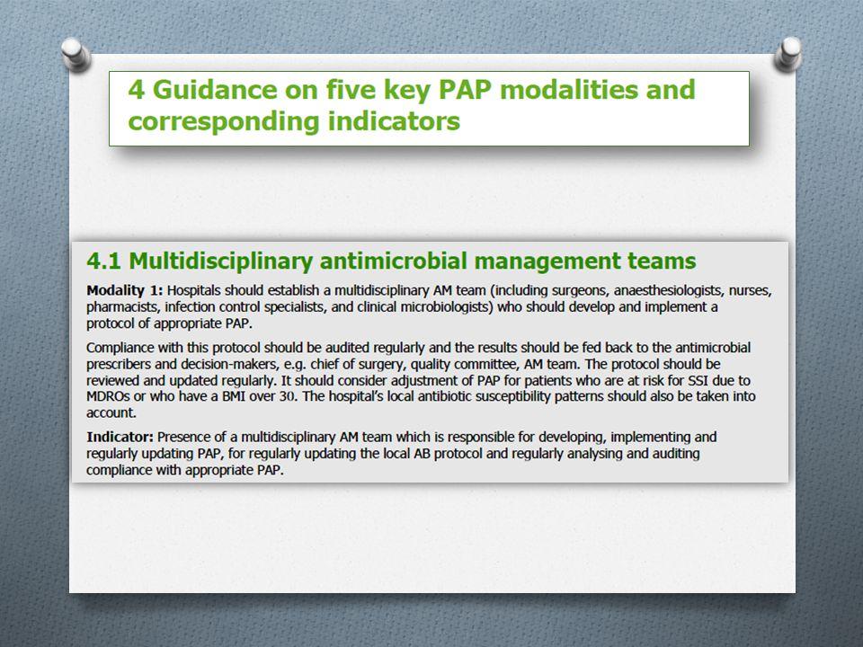 Colorectale ingrepen (kanker) 38 ZH met interne RL vertonen ≠ met Sanford guide 2012-2013 O 14 ZH: 1,5 g metronidazol IV (i.p.v.