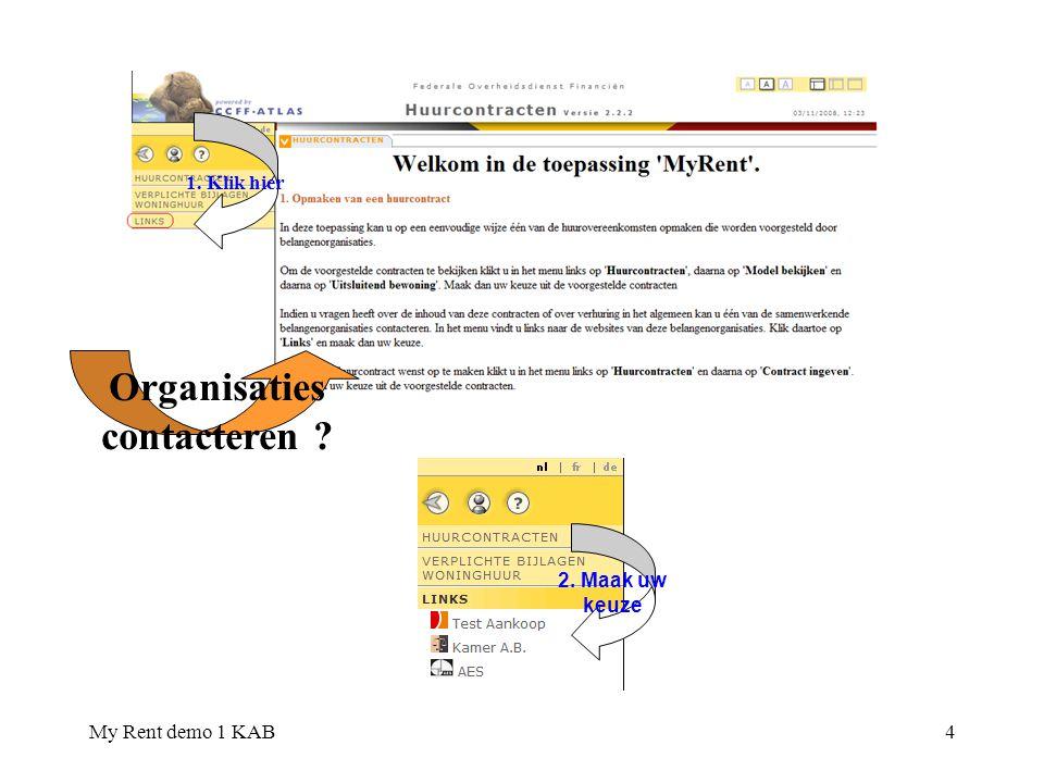 My Rent demo 1 KAB15 Waarborg.8. Vul in voorkomend geval aan 7.