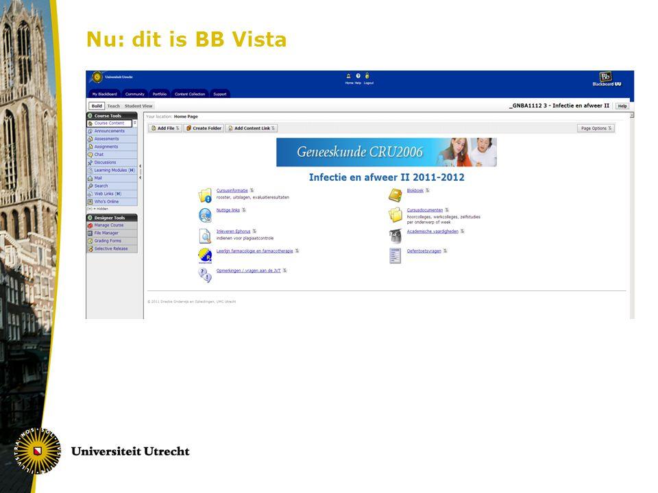 Nu: dit is BB Vista