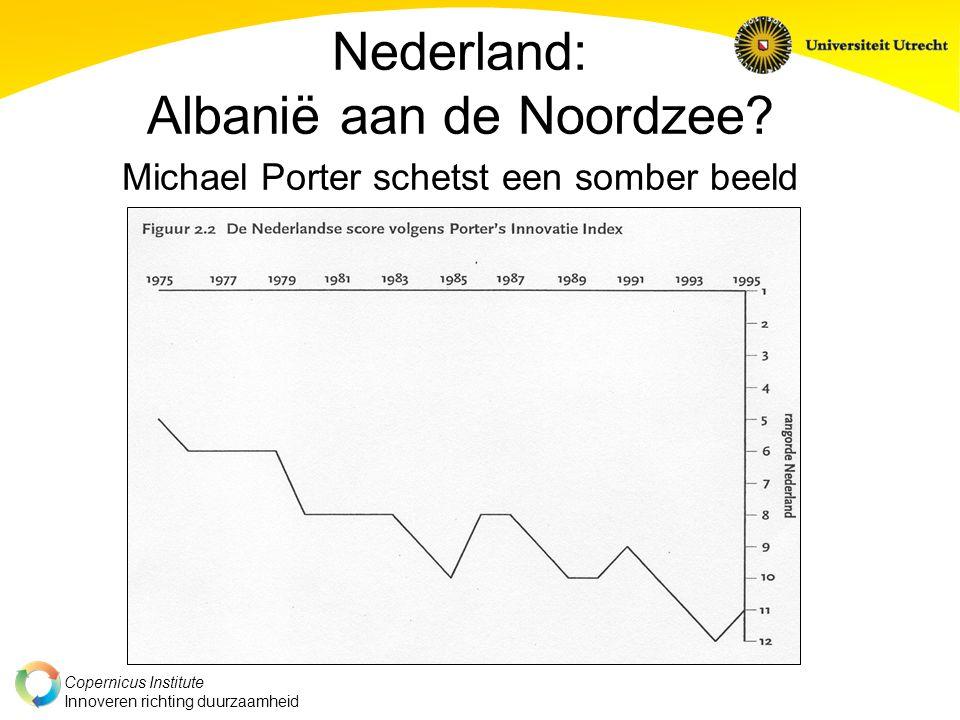 Copernicus Institute Innoveren richting duurzaamheid Nederland: Albanië aan de Noordzee.