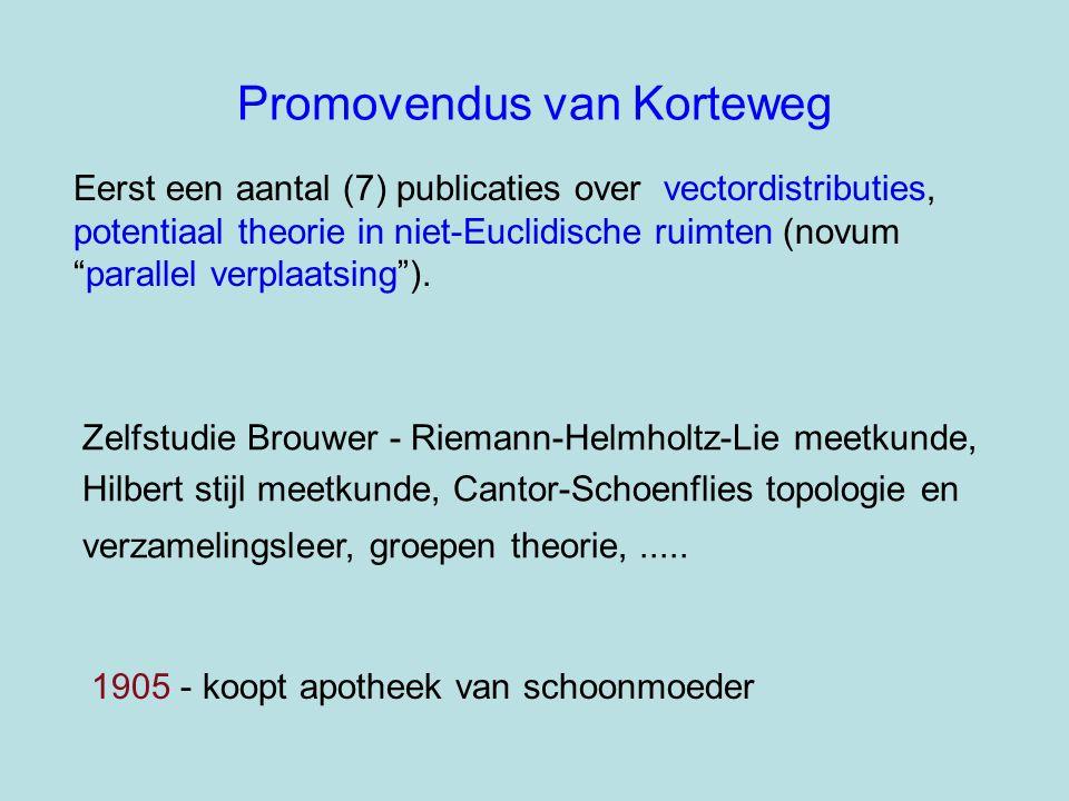 Zelfstudie Brouwer - Riemann-Helmholtz-Lie meetkunde, Hilbert stijl meetkunde, Cantor-Schoenflies topologie en verzamelingsleer, groepen theorie,.....