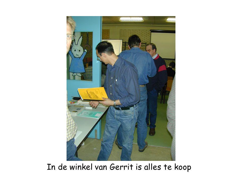 In de winkel van Gerrit is alles te koop