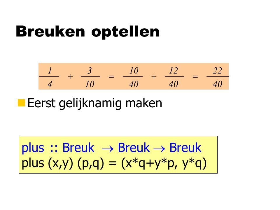 Aanloop 1234 1 aanloop ( x : xs ) = (aanloop xs) x map ((:) ) [ ][1,2,3,4][1,2,3][1,2][1][ ][2,3,4][2,3][2] [ ] : :: [a]  [[a]]