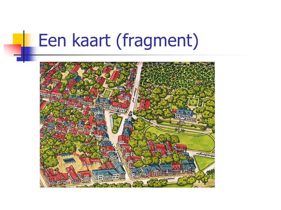 Een kaart (fragment)