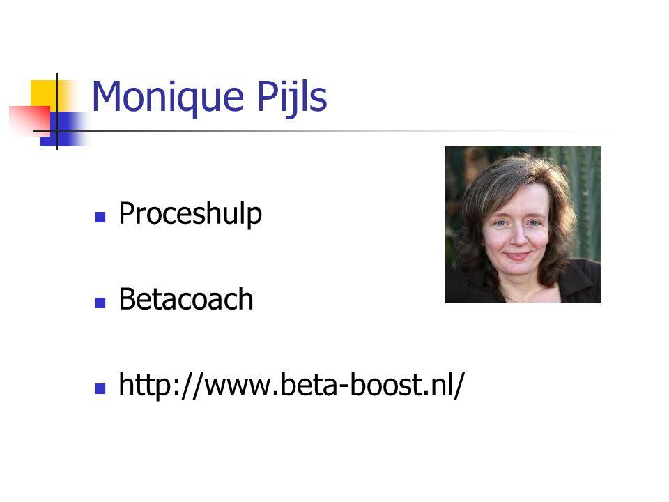 Monique Pijls Proceshulp Betacoach http://www.beta-boost.nl/