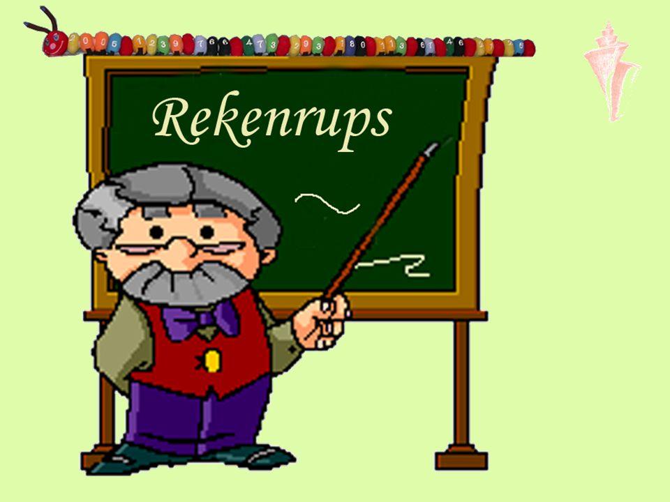 Klassenklus bij 'Volgens Bartjens'Volgens Bartjens Bestand in exel Rups