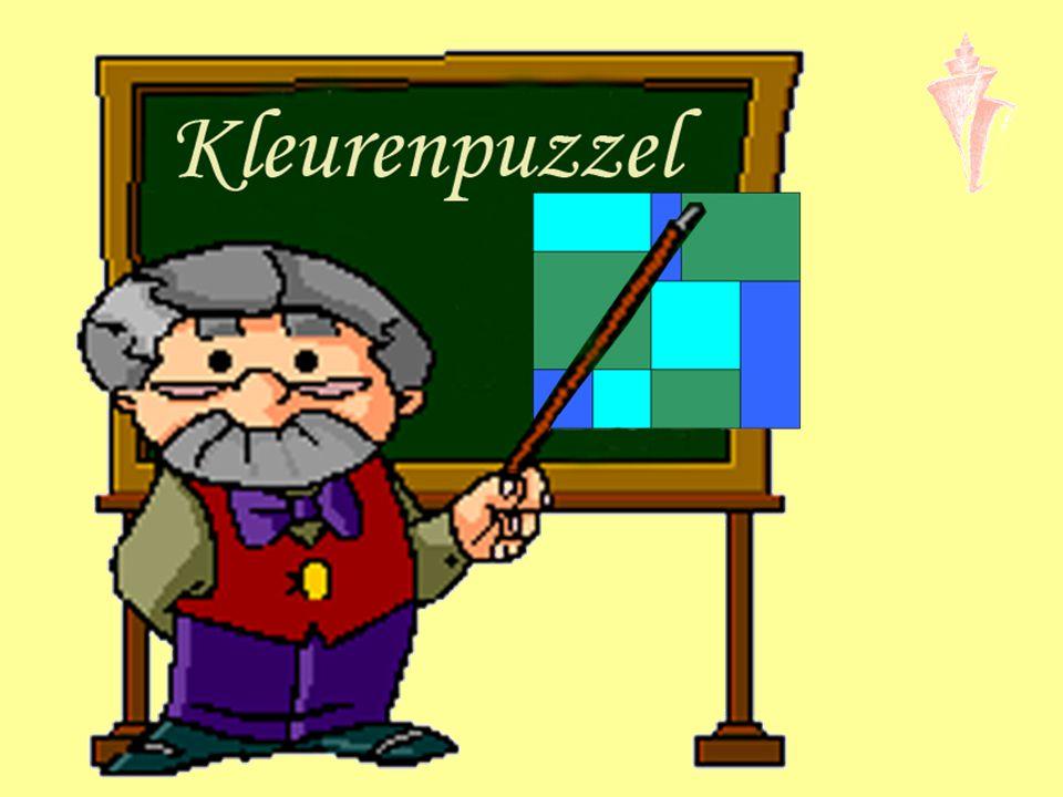 9 stukjes 3 verschillende kleuren Elke kleur: 3 stukken 864 4 4 8 6 10 6 2 8 1 2 3 4 5 6 7 8 - Lengte en breedte meten - Omtrek en oppervlakte berekenen - Diagonaal berekenen met stelling Pythagoras