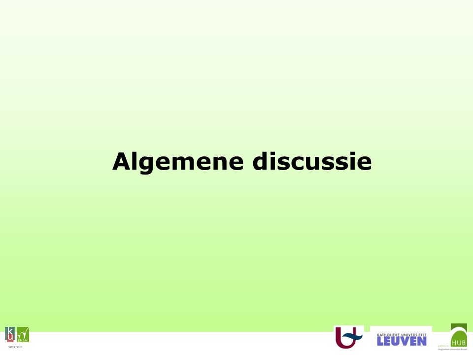 VLEKHO-HONIM Algemene discussie