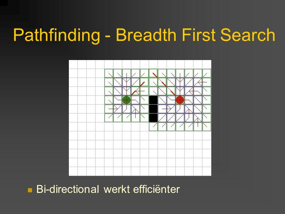 Bi-directional werkt efficiënter