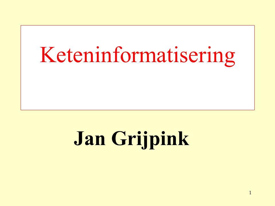 Keteninformatisering Jan Grijpink 1