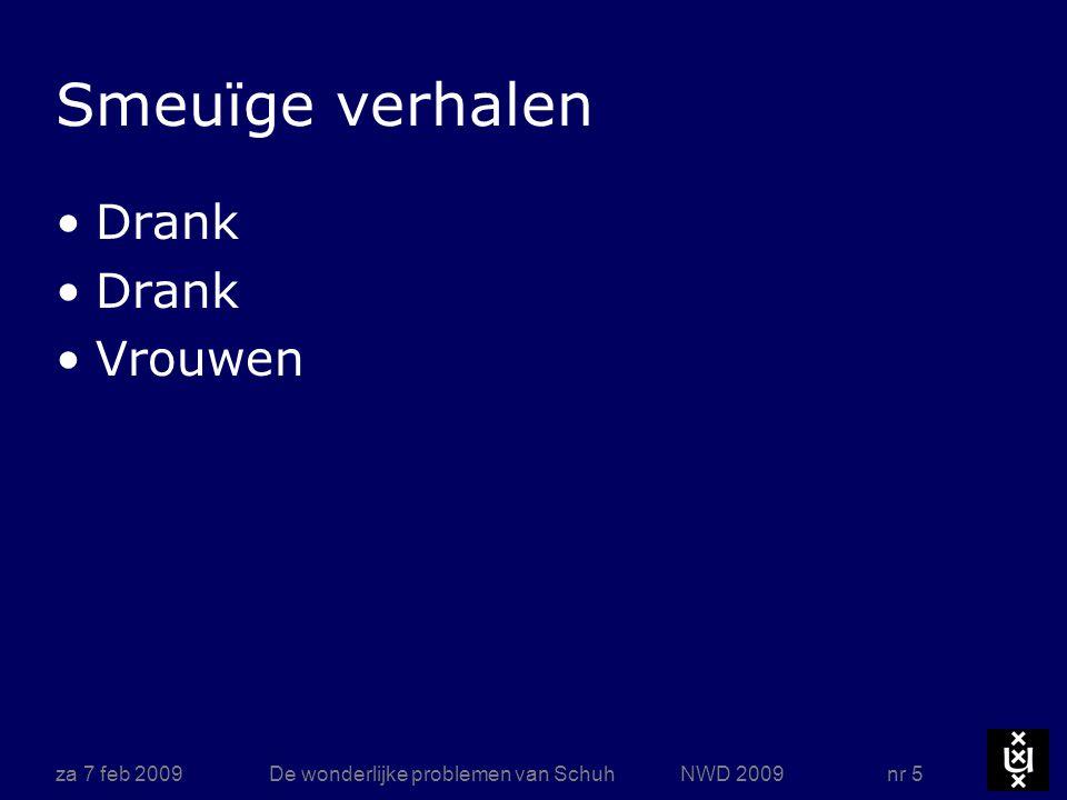 za 7 feb 2009De wonderlijke problemen van Schuh NWD 2009 nr 16 Docent Talrijke Delftse ingenieurs hadden Schuh als leermeester in de mechanica Zijn colleges waren van een niet te overtreffen helderheid ( wikipedia ) Op internationale congressen was hij een bekende figuur.