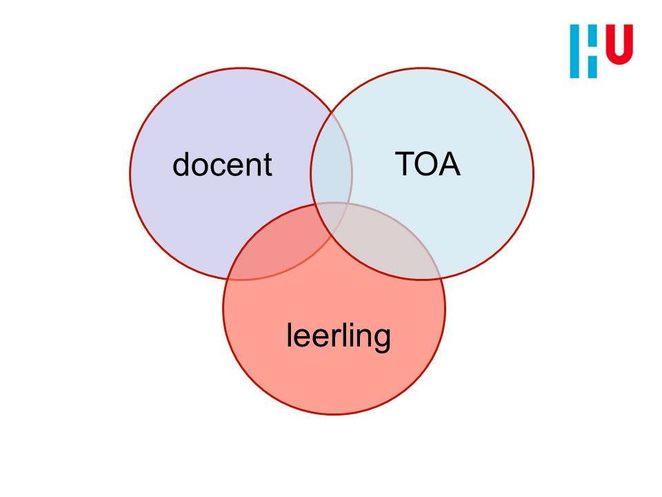docent leerling TOA