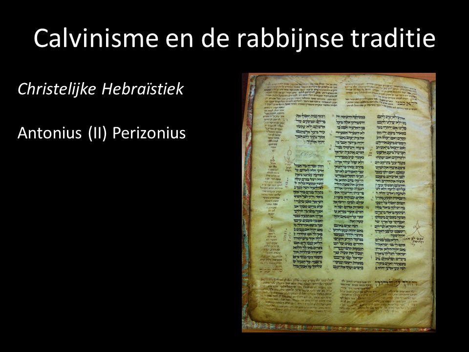 Christelijke Hebraïstiek Antonius (II) Perizonius