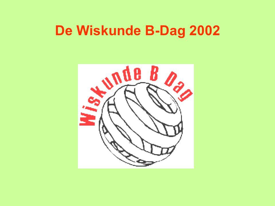 De Wiskunde B-Dag 2002