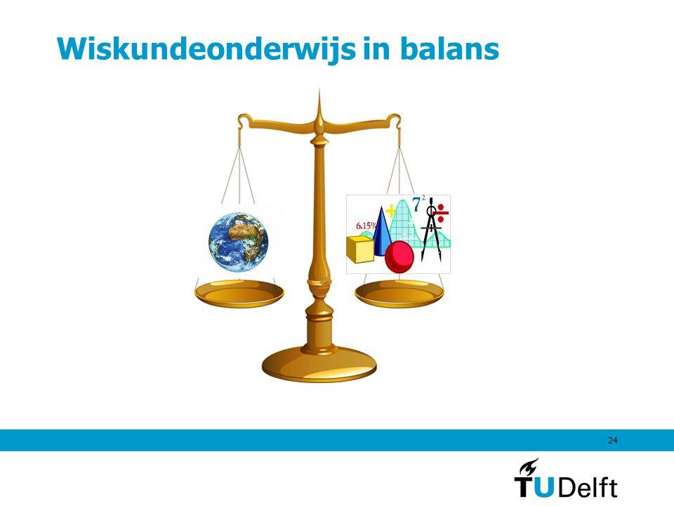 24 Wiskundeonderwijs in balans