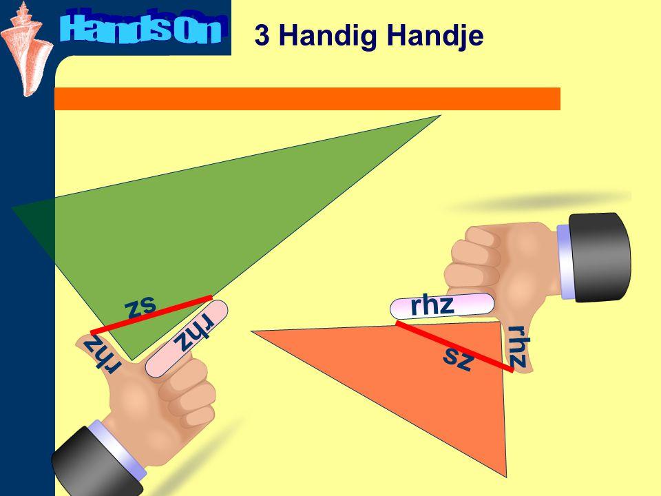 3 Handig Handje rhz sz rhz sz
