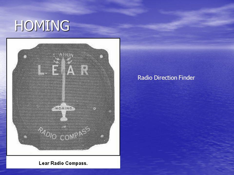 HOMING Radio Direction Finder