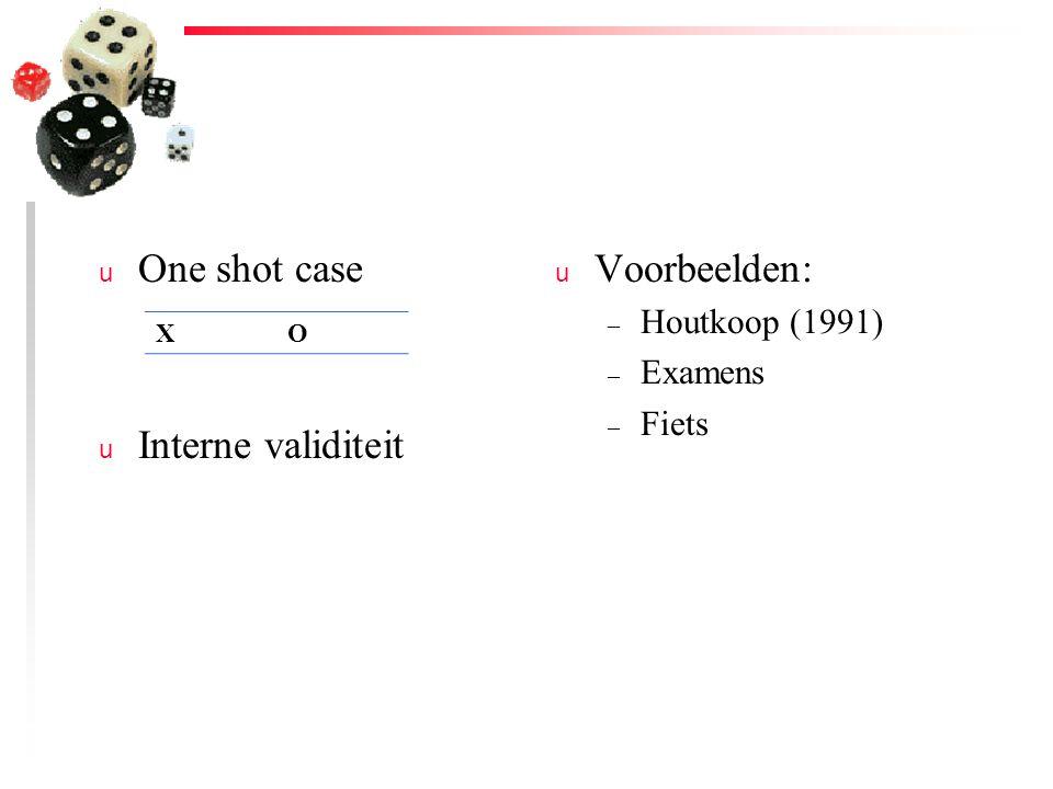 u Voortoets-natoets-controle-groep-ontwerp (3) u Effect voormeting.