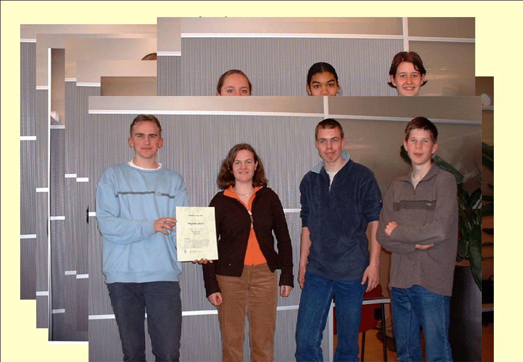 28 maart 2003 symposium Wim Groen 1 + 1 = 2 en hoe nu verder? aad goddijn 6 Winnaars
