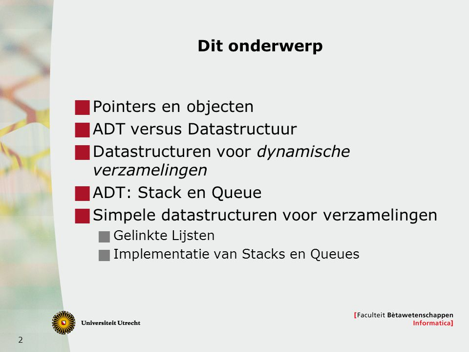 43 7 Combinaties van datastructuren
