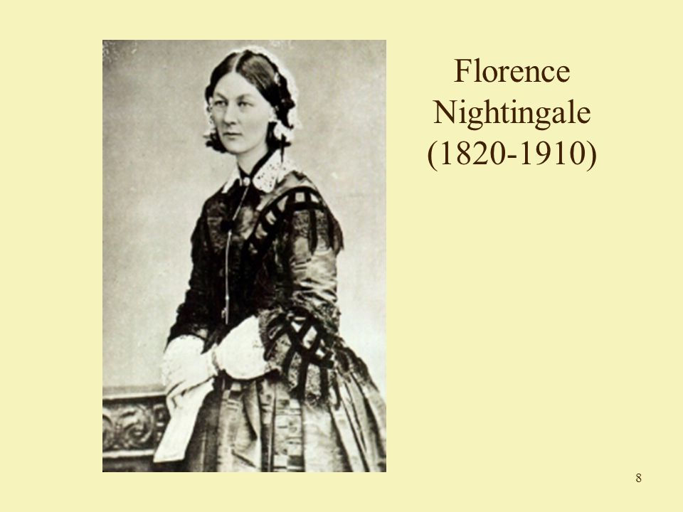 8 Florence Nightingale (1820-1910)