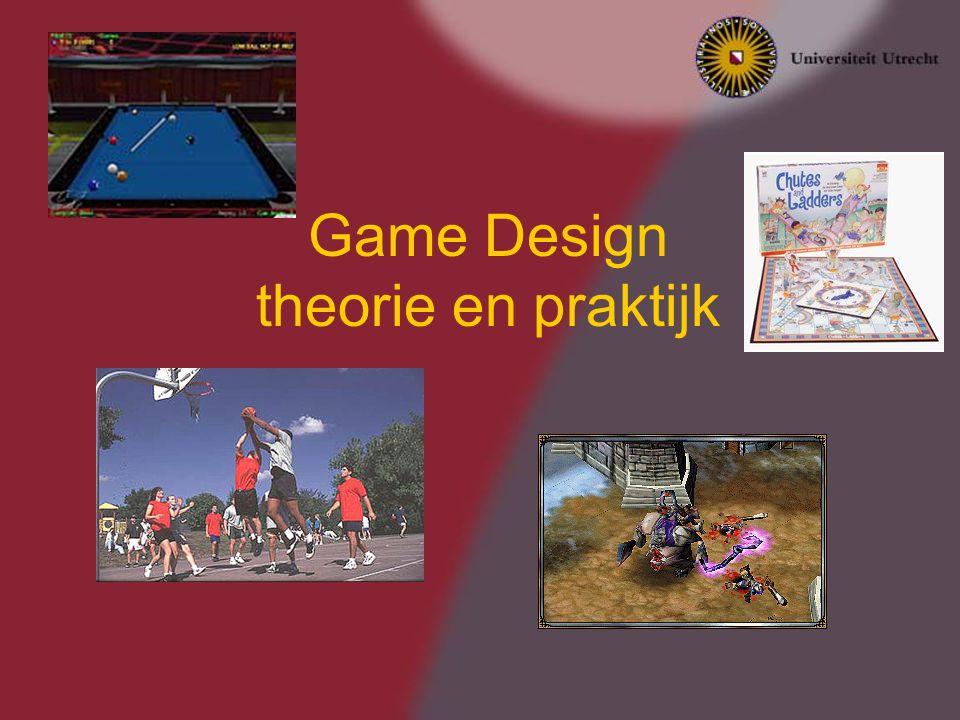 Game Design theorie en praktijk