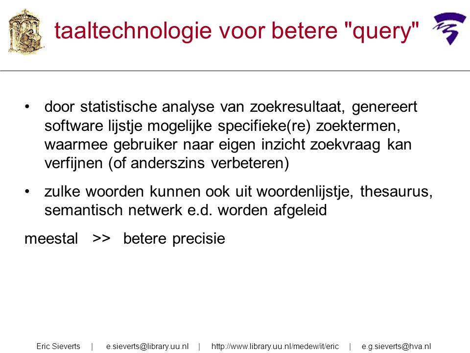 taaltechnologie voor betere