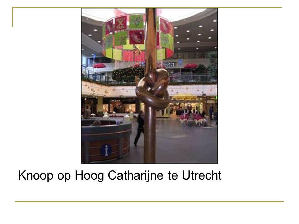 Knoop op Hoog Catharijne te Utrecht