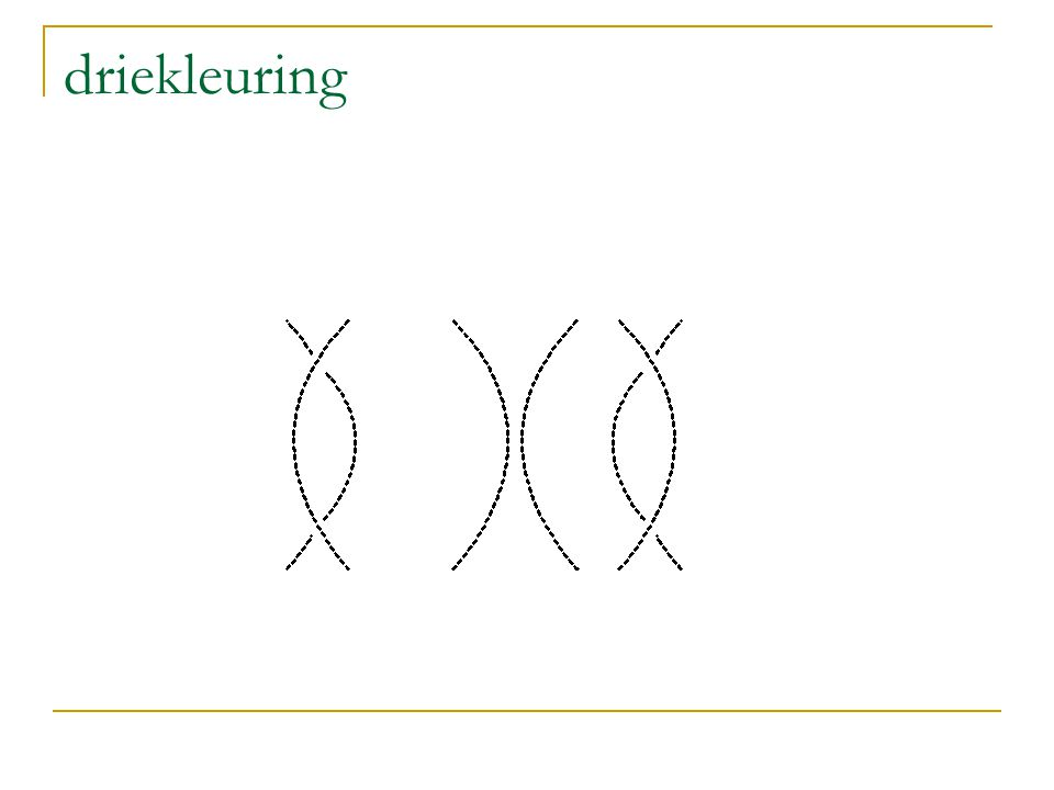 driekleuring