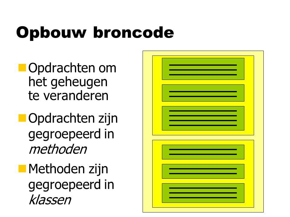 Windows-applicatie class HalloForm { } : Form public HalloForm( ) { } this.Text = Hallo ; this.BackColor = Color.Yellow; this.Size = new Size(200,100); this.Paint += this.teken; Event -property Methode-naam, maar geen aanroep!