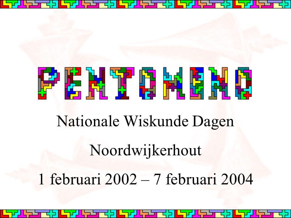 Verdrievoudigen De nieuwe figuur wordt opgevuld met 9 pentomino's VNX