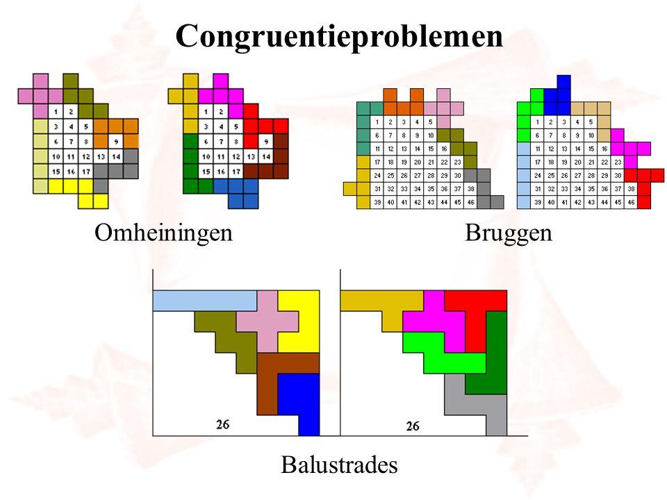 Congruentieproblemen OmheiningenBruggen Balustrades