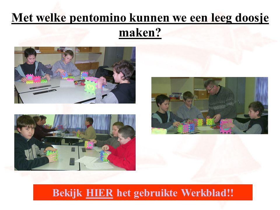 Onze pentomino-set fabriek.Gemaakt met filo-cad tijdens lessen technologische opvoeding.