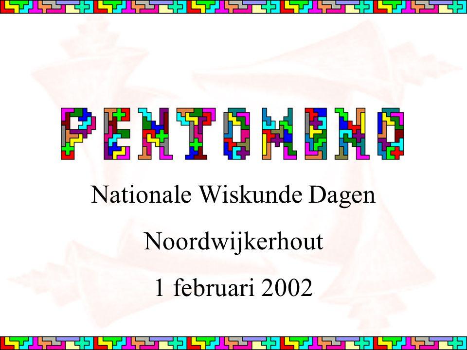 Nationale Wiskunde Dagen Noordwijkerhout 1 februari 2002