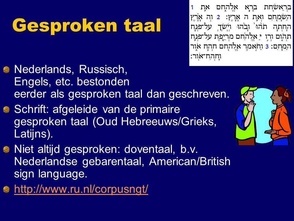 Meer taalkunde in CKI programma Natuurlijke taalverwerking (taal en logica) Semantiek (formele betekenis) Variatie in betekenis (typologie, taal en cognitie) Taal- en spraaktechnologie