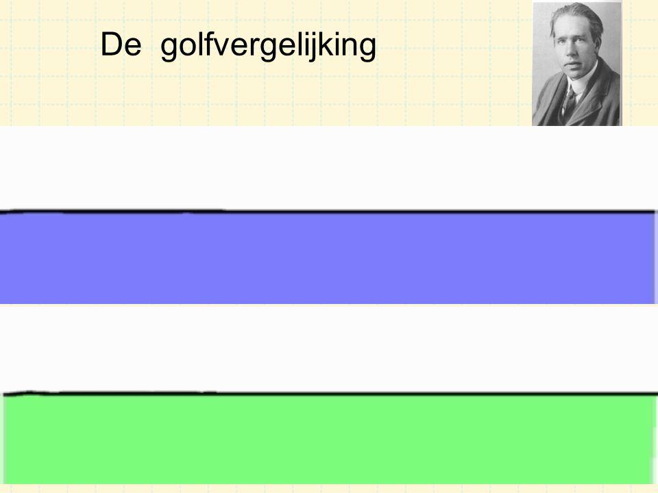 De golfvergelijking