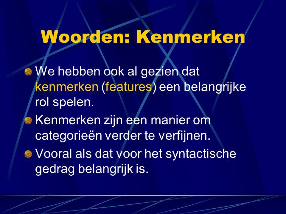 Woordvolgorde: Introductie Vergelijk de volgende zinnen: Brutus bemint Lucia Brutus Luciam amat(Latijn) Een verschil: Nederlands: S(ubject) V(erb) O(bject) Latijn: S(ubject) O(bject) V(erb)