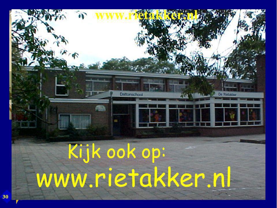 30 Kijk ook op: www.rietakker.nl