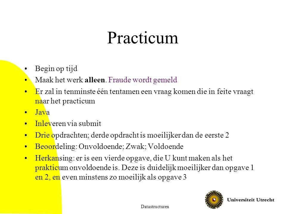 Prakticum Onvoldoendes:  Bij 1 keer onvoldoende: herkansingsopgave van prakticum Bij 2 keer onvoldoende: GEZAKT voor het vak.