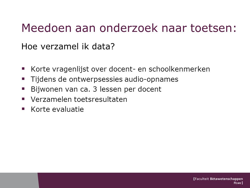 Classificatie van contexten  Gilbert (2006): Context is…  Model 1 (Application as example afterwards)  Model 2 (Situation as container for concepts)  Model 3 (Narrative as lead for student learning)  Model 4 (Community of practice)