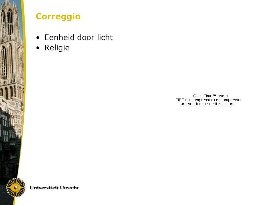 Correggio Eenheid door licht Religie