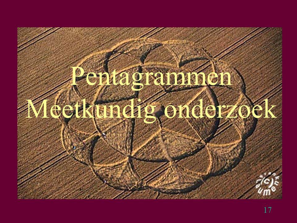 17 Pentagrammen Meetkundig onderzoek