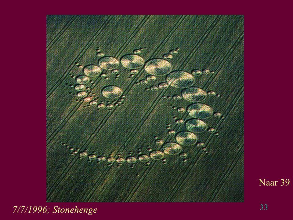 33 7/7/1996; Stonehenge Naar 39